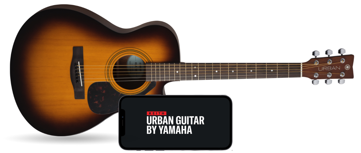 Urban Guitar comes with a Lesson App on your phone