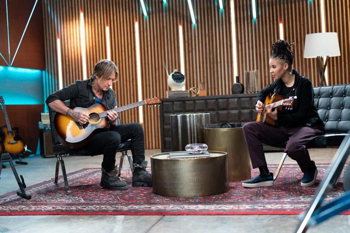 Keith Urban collaboration with Yamaha