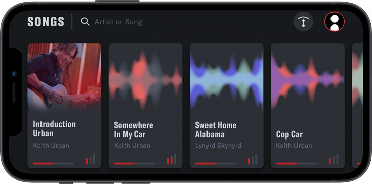 Urban App on iPhone Screenshot