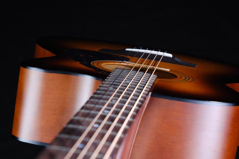 Urban Guitar photo taken in a professional studio setting