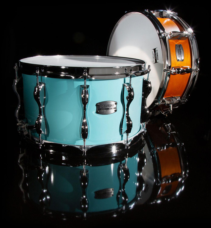 blue orange drums