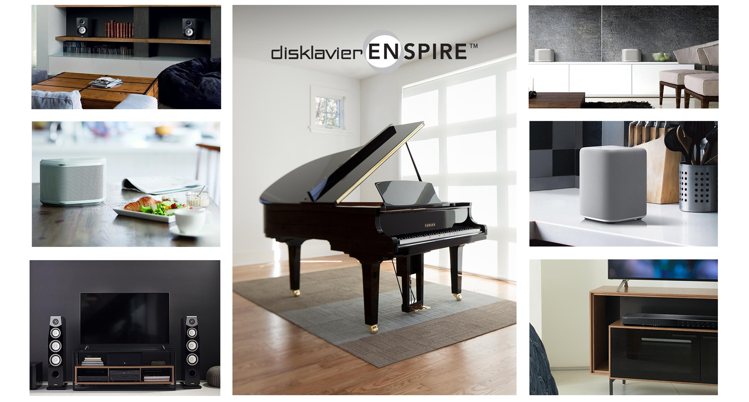 Enspire MusicCast Image Collage