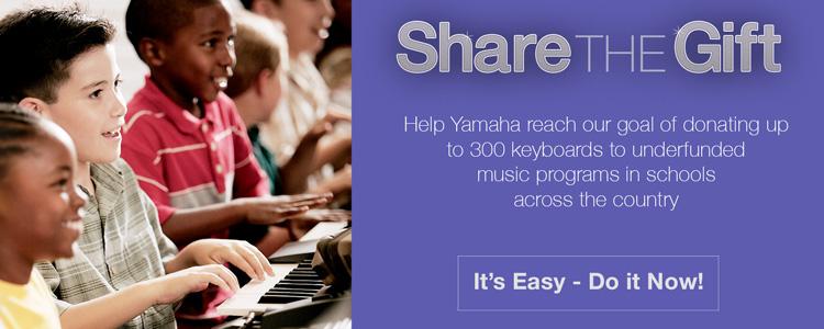 #YamahaShareTheGift