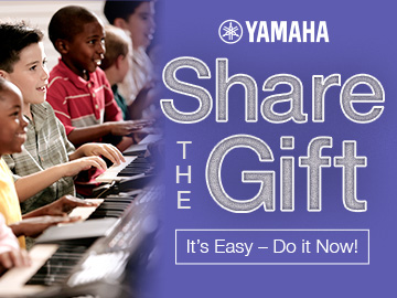 Yamaha Share The Gift - It's Easy!