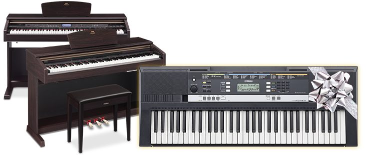 Ydp 181 ydp v240 free psr e243 promo for Yamaha digital piano dealers