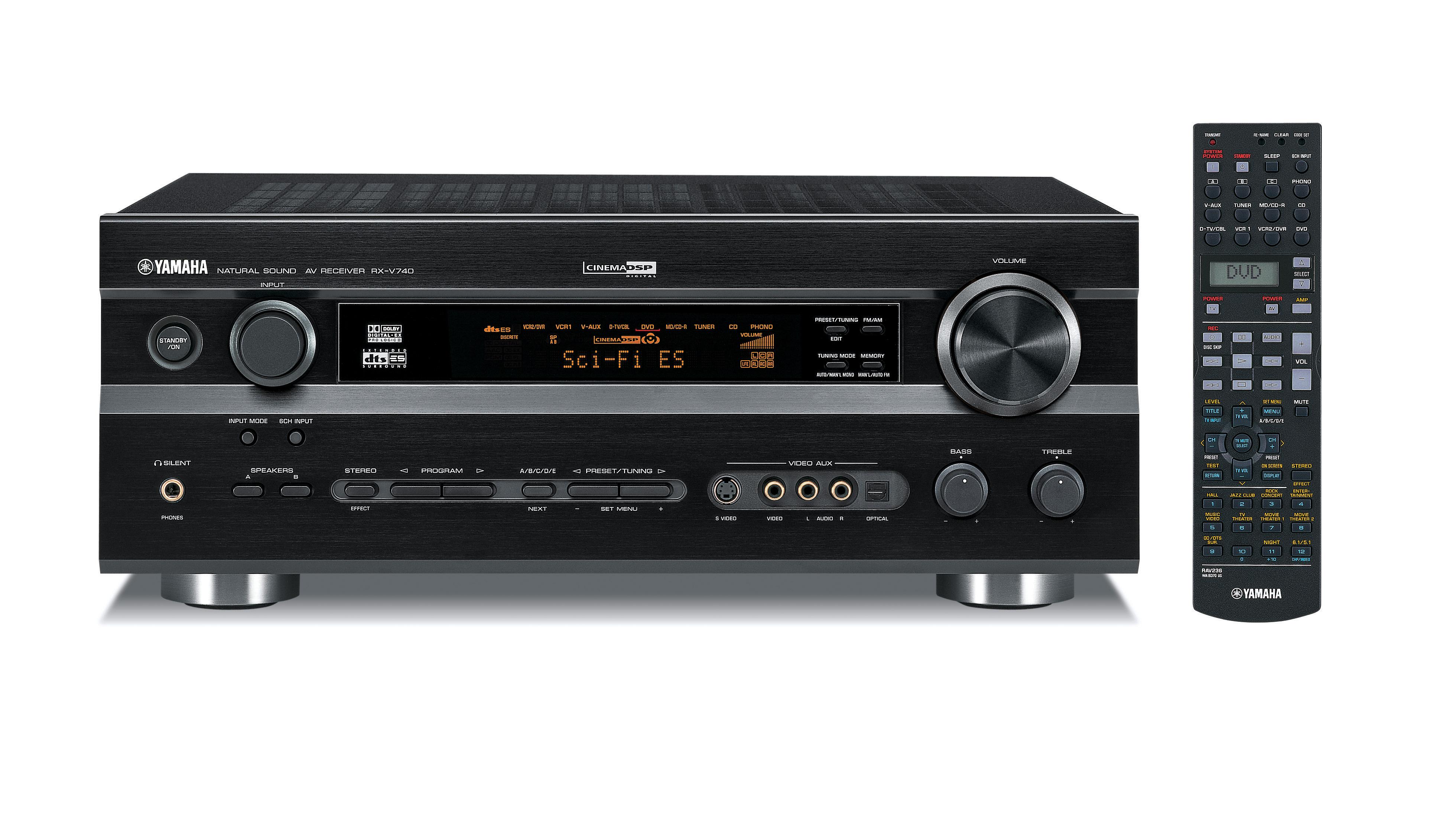 Yamaha Rx Va V Receivers Two Speaker Set Up