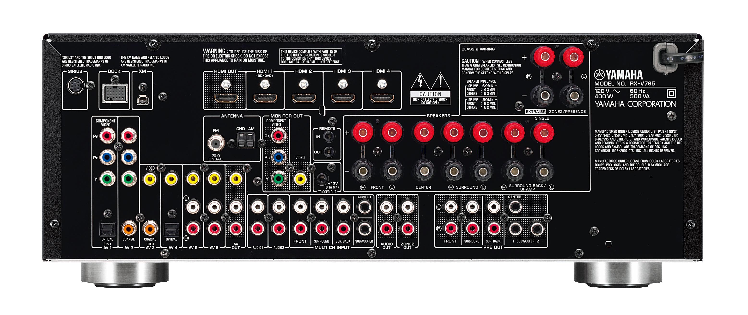 Yamaha receiver internal error / no model info full solution youtube.