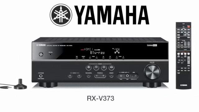 yamaha 39 s rx v373