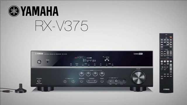 Yamaha's RX-V375