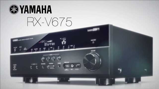 Yamaha 39 s rx v675 for Yamaha rx v675 7 2 channel network av receiver with airplay
