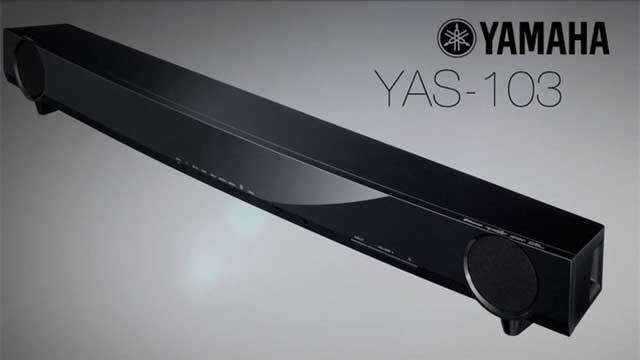yas 103 surround sound bar. Black Bedroom Furniture Sets. Home Design Ideas