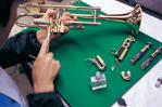 [Bild] 1965: Beginnt die Produktion von Blasinstrumenten