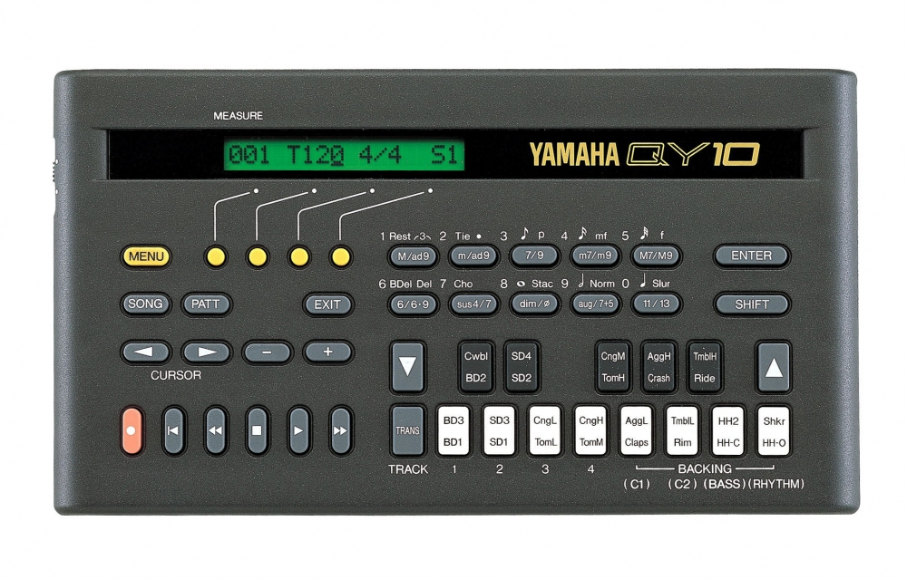 QY10 - Keyboard Instruments & Music Production Tools