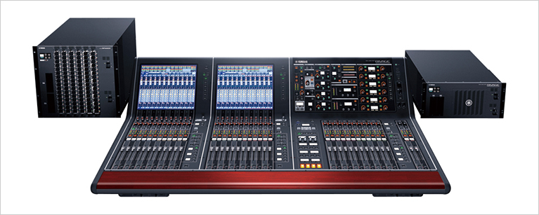 [ Image ] Yamaha's RIVAGE PM10 digital mixing system incorporates the VCM technology.