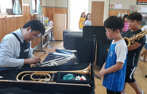 [ image ] A lecture on the importance of musical instrument maintenance
