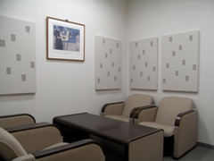 [ image ] Conference room built using acoustic conditioning panels