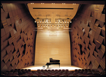 [ photo ] Yamaha Hall in the Yamaha Ginza Building