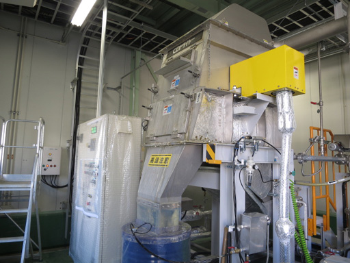 [ image ] Vacuum concentration equipment (Toyooka Factory)