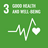 [ icon ] GOOD HEALTH AND WELL-BEING