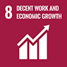 [ icon ] DECENT WORK AND ECONOMIC GROWTH
