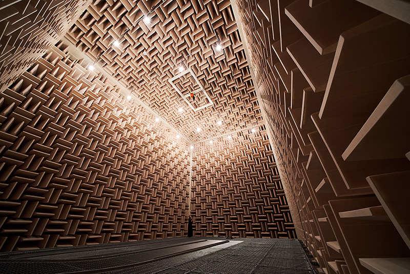 [ Image ] Innovation Center (Anechoic chamber)