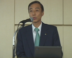 [ Image ] Presenter:Tsuneo Kuroe Director and Managing Executive Officer Yamaha Corporation