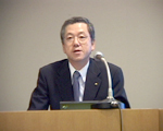 [ Image ] Presenter:Hiroo Okabe Director and Managing Executive Officer