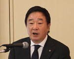 [ Image ] Presenter:Mitsuru Umemura President and Representative Director Yamaha Corporation