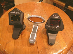 Various clip-on tuners