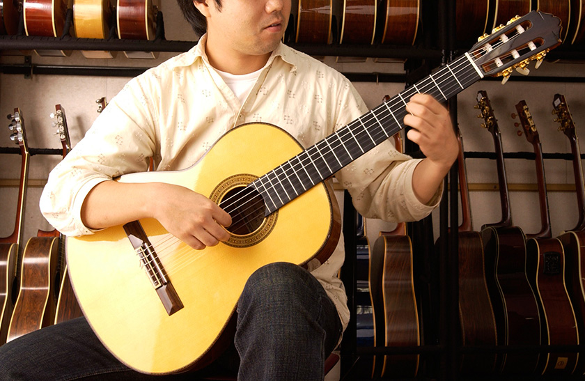 How to Play the Classical Guitar:The basic position