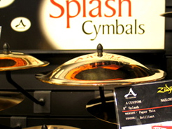 Effective cymbals