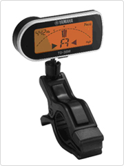A clip-on tuner