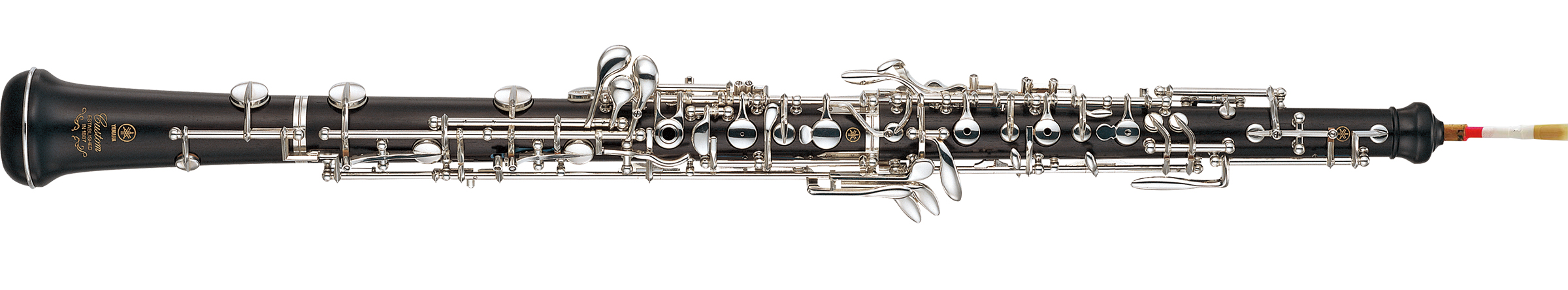 The entire display of the oboe