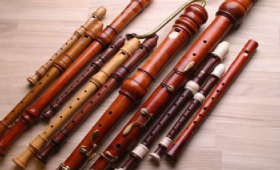 Recorders of all sizes, from small to large
