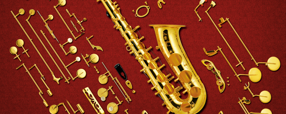 The Structure Of The Saxophone Learn The Names Of The