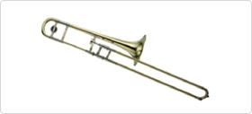 A tenor trombone (YSL-881UII)