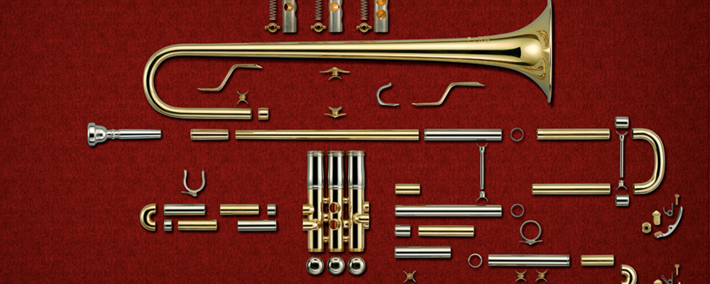 Mechanism Main on Trumpet Piston Diagram