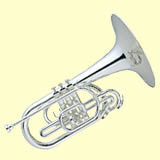 The marching mellophone