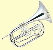 The marching French horn