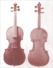 The oldest existing violin, built by Andrea Amati