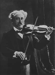 Pablo Sarasate was one of the great violinists during the second half of the 19th century