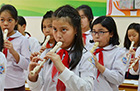 [ image ] Yamaha Project to Introduce Instrumental Music Education in Vietnam Receives JETRO Support