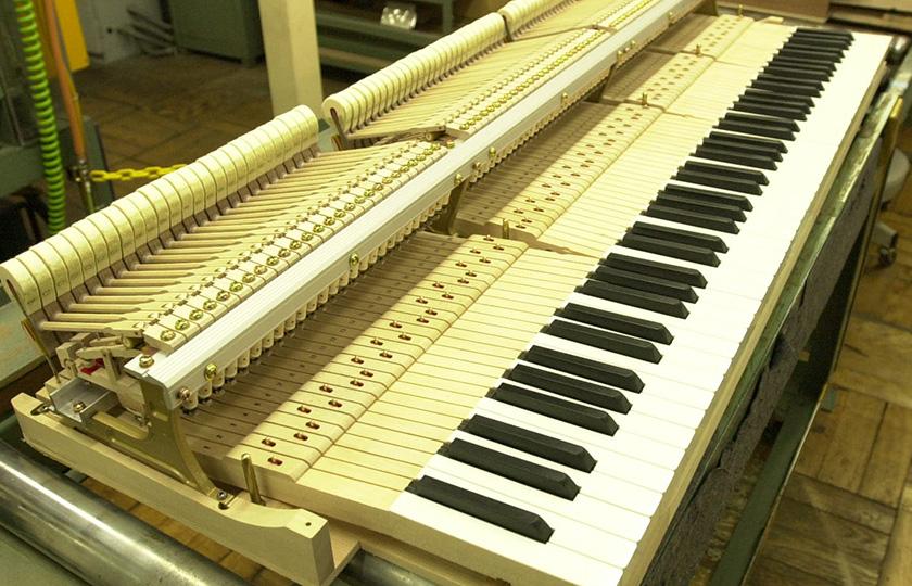 鍵盤部分が完成