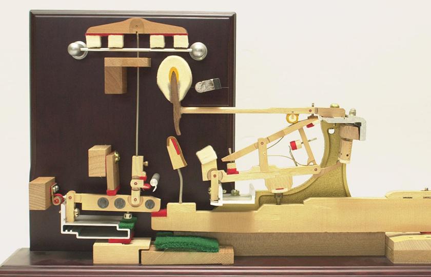 ピアノのしくみ:ピアノのアクションって、何? - 楽器解体全書 - ヤマハ株式会社