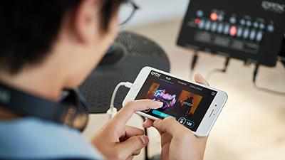 [ 画像 ] DTX402 Touchとの連携