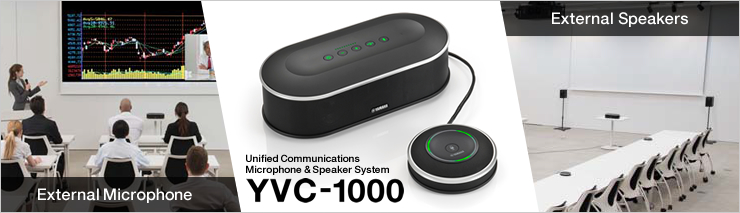 Unified Communications Speakerphone YVC-1000
