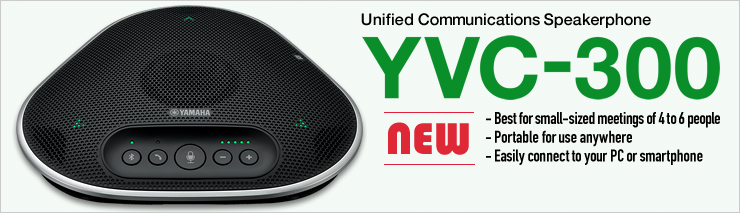 Unified Communications Speakerphone YVC-300