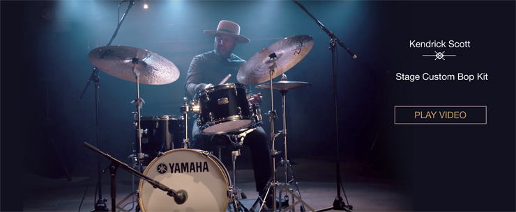Yamaha Stage Custom Bop Kit feat. Kendrick Scott
