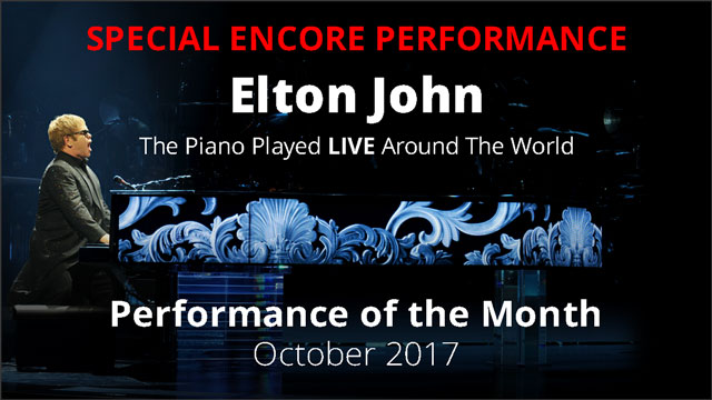 Special Encore Performance: Elton John - The Piano Played LIVE Around The World