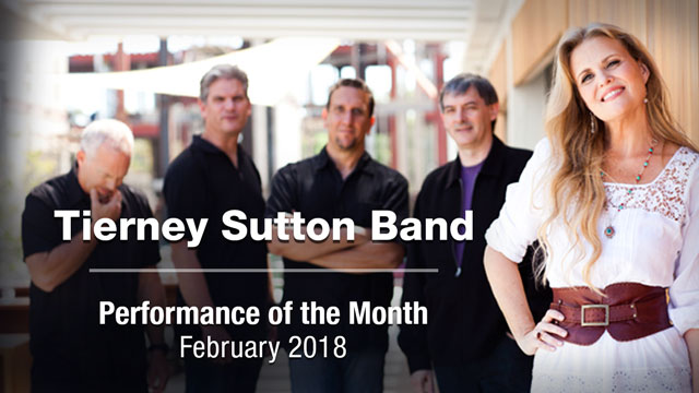 Tierney Sutton Band Performance of the Month